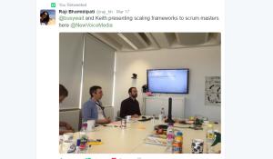 Scaling Agile Tweet via Raji
