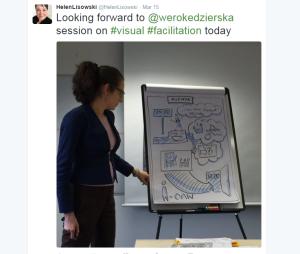Visual Facilitaiton with Weronika tweet