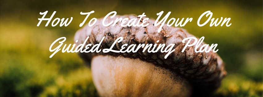 How To Create Your Own Guided Learning Plan