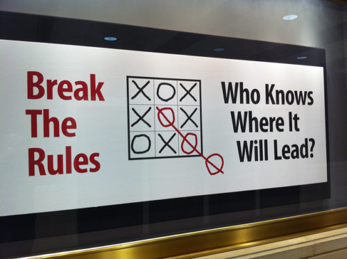 Why Rules Are Made to Be Broken