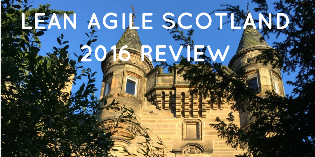 Great Value for Time & Money: Lean Agile Scotland