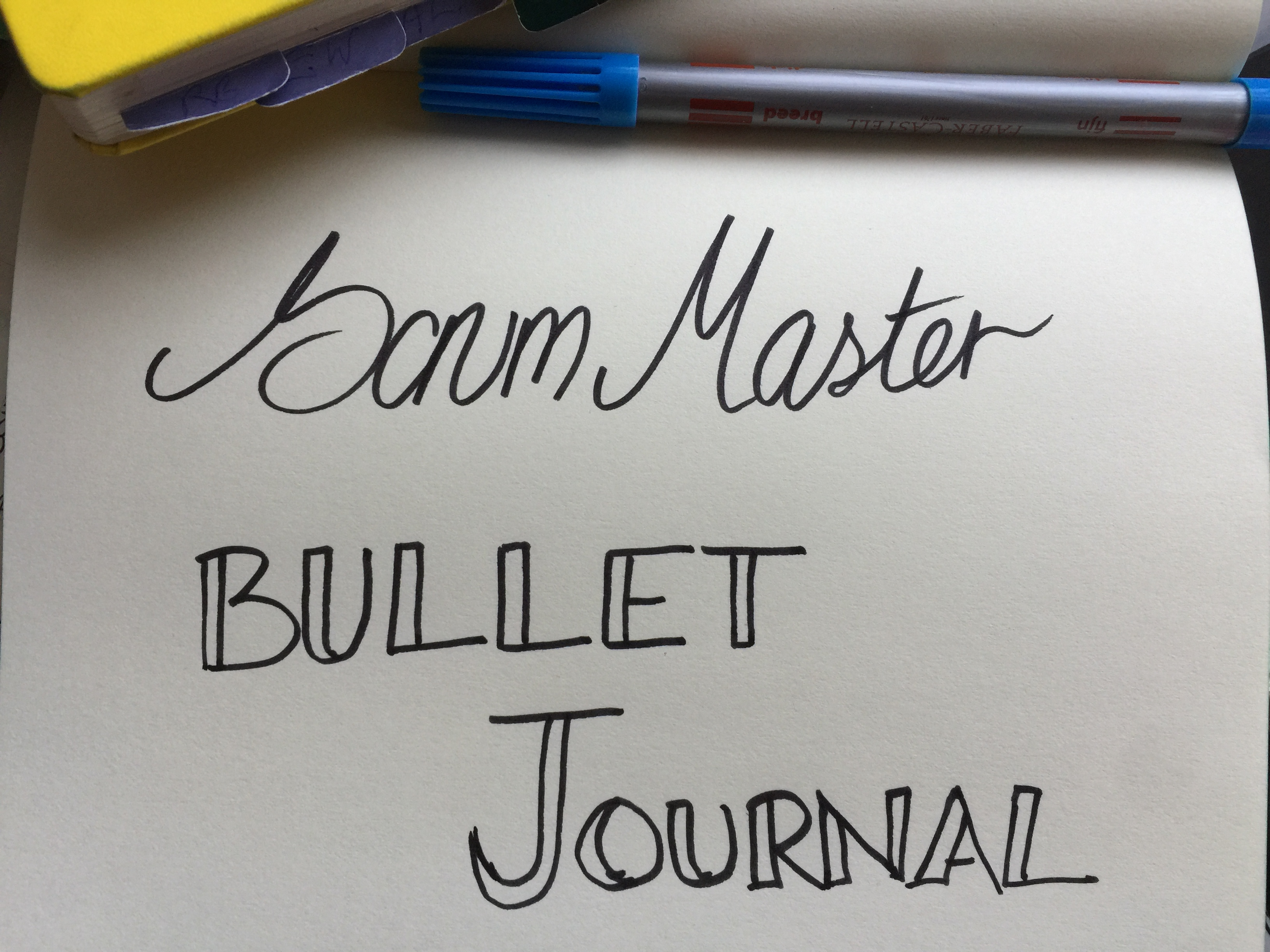 How to Use a Bullet Journal to be a Better Scrum Master
