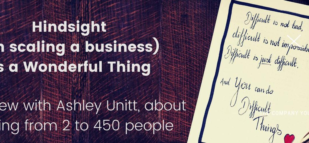 Interview with Ashley Unitt, Successful Entrepreneur